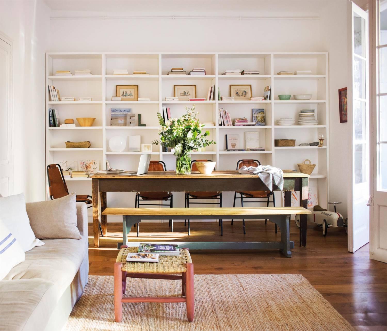 Descubrir muebles que combinen con piso de madera