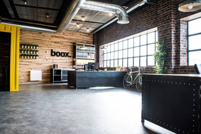 Estilo industrial dise o de oficinas f c decor magazine for Diseno estilo industrial