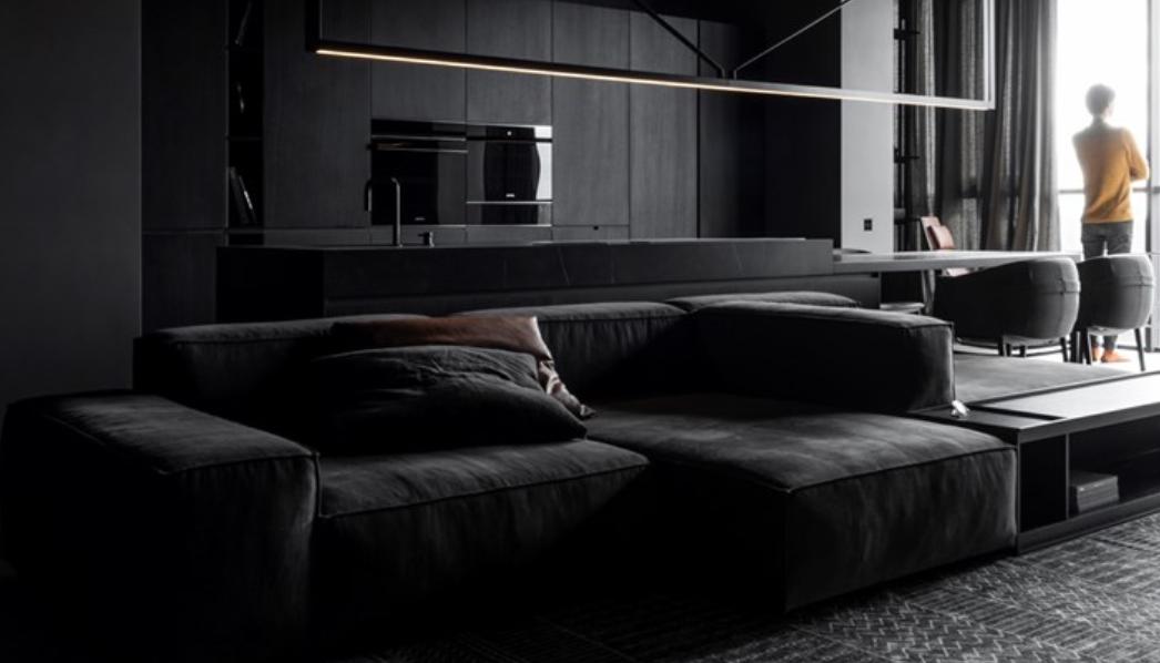marcas muebles minimalistas: Living Divani, explorando el Monocromo 5