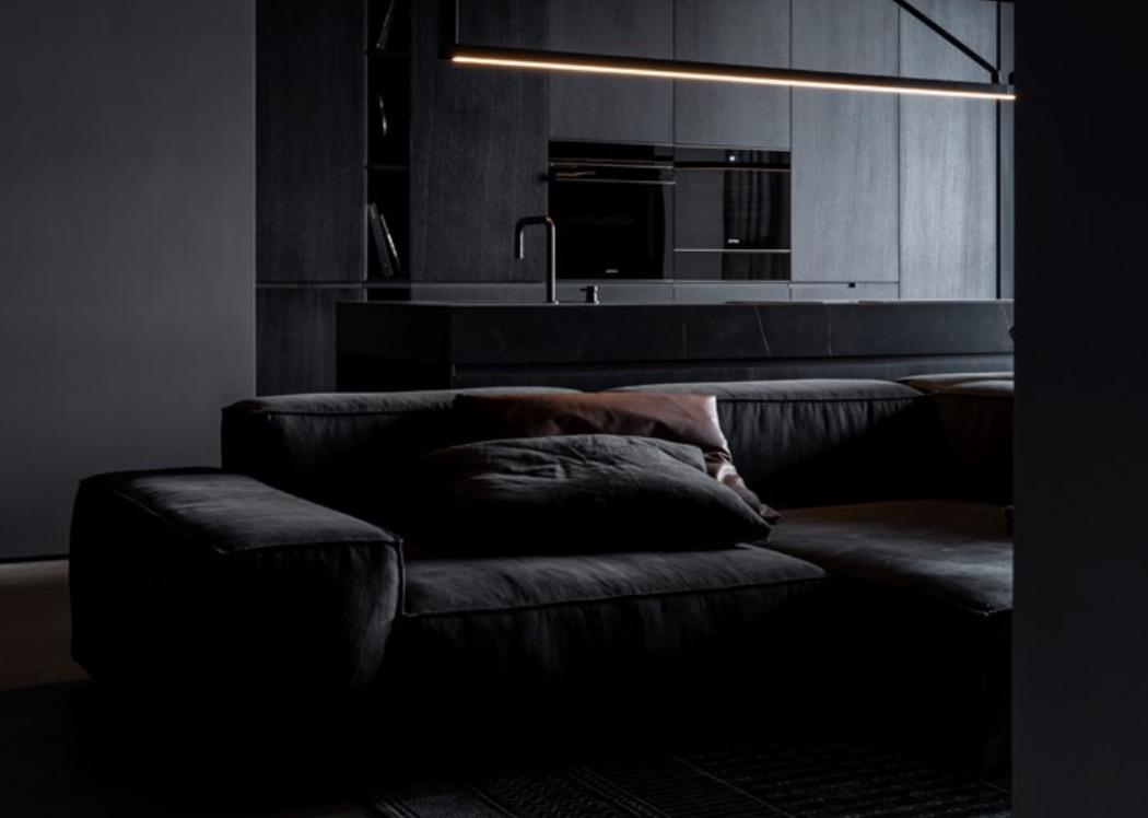 marcas muebles minimalistas: Living Divani, explorando el Monocromo 3