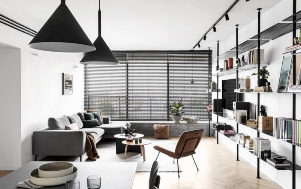 decoración de apartamentos pequeños modernos: Maya Sheinberger 21