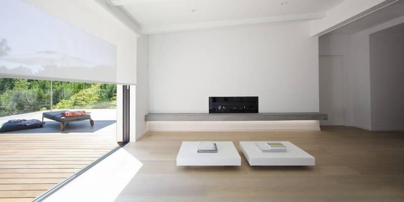 LTD Architecture - Chatham Residence, minimalismo con fondo blanco 1