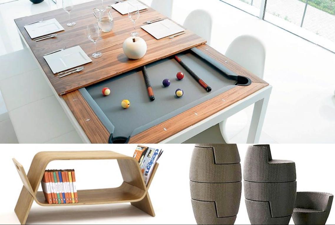 muebles del futuro: ideas de muebles para ahorrar espacio 6