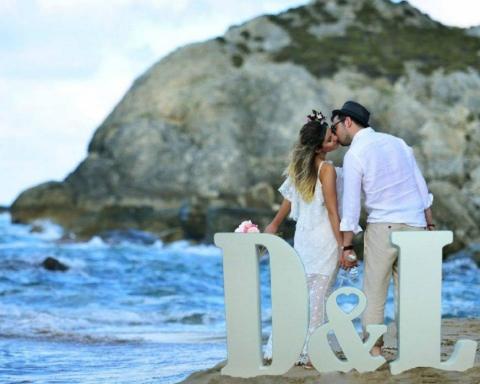 Letras XXL para tu boda 12