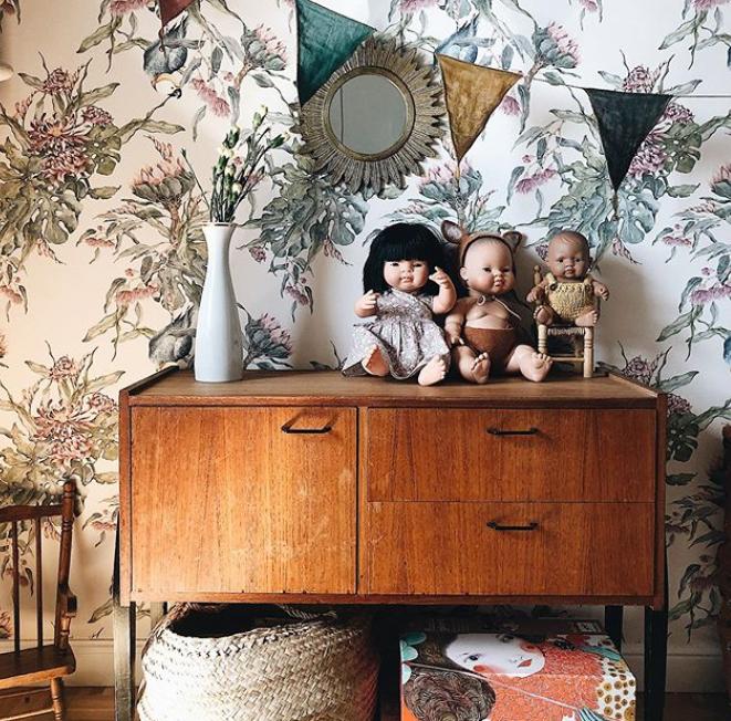 muebles de salón modernos vintage PARA la habitación de los niños. 1