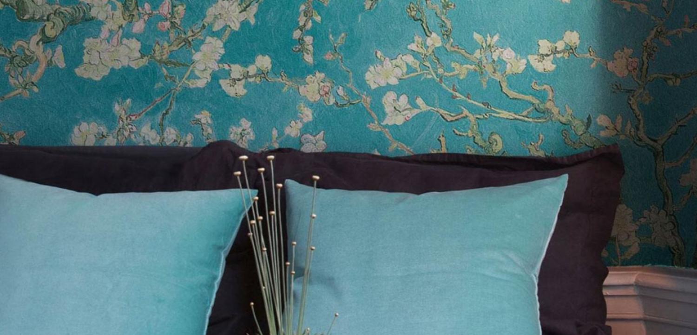 papel de flores vintage para las decoraciones modernas de casas 1