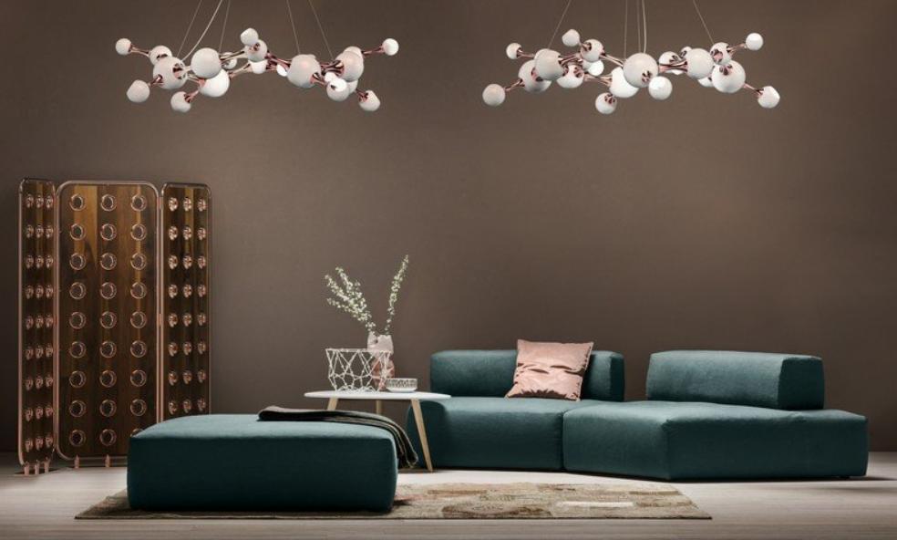 lo último en iluminación de interiores es The Atomic Collection 2