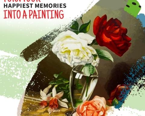 ¿Dónde encontrar flores para pintar por números? Canvas by Numbers 21