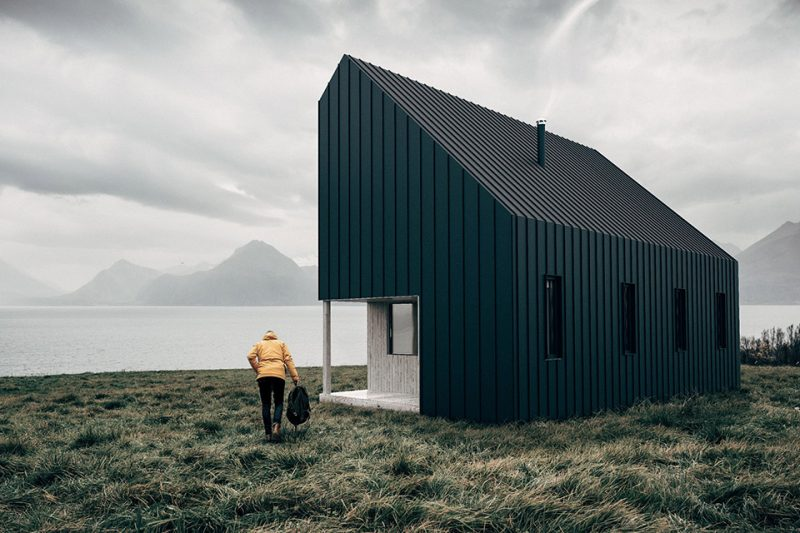 backcountry-hut-1 IDEAS NOVEDOSAS PARA UN REFUGIO MODULAR