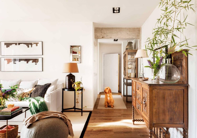 Descubrir muebles que combinen con piso de madera 2