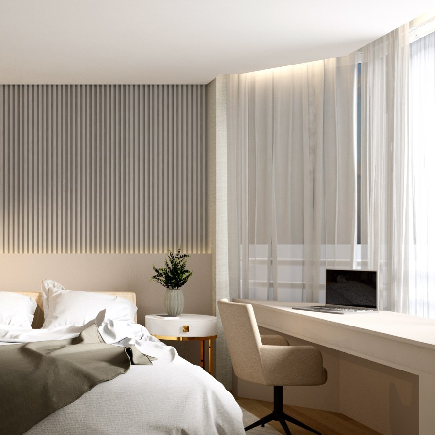 ¿Cómo amueblar dormitorios para pisos pequeños?